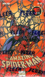 Amazing Spider-Man Package Design Box of 36 Packs.