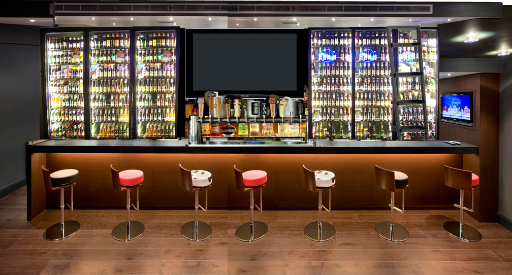 gallery for sports bar design