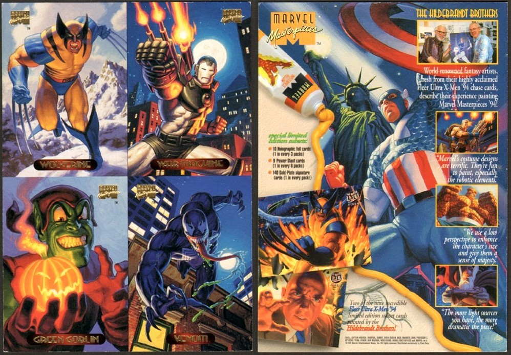 MArvel Masterpieces_tradaing-card-marvel-1994-front-horz