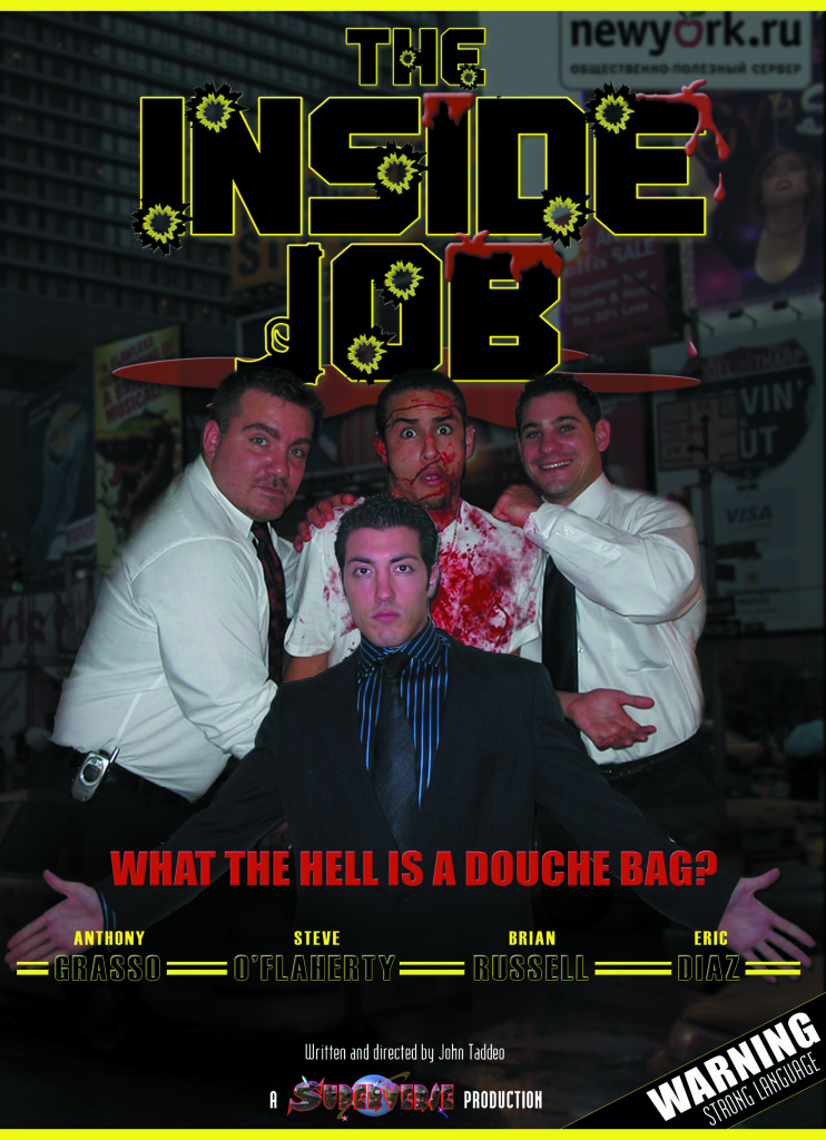 "Movie Poster for ""The Inside Job"""